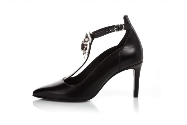 Luxury black shoes with jewelry portugal - Portuguese shoes for men & woman