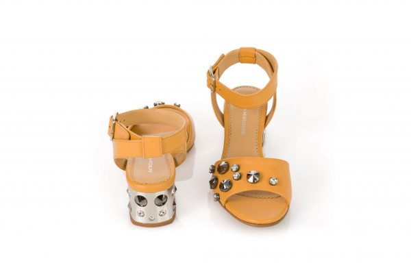 Luxury portuguese shoes - Low Heel sandals for woman
