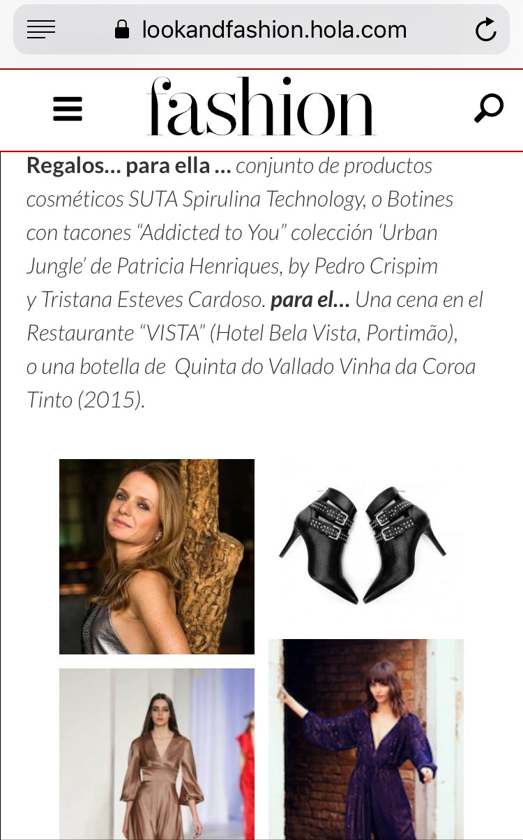 Os botins da Edição Urban Jungle nas sugestões da cantora e gestora Sofia Hoffmann