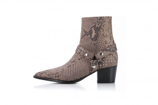 Ankle leather boots for men - Portuguese Shoes for Men & Women