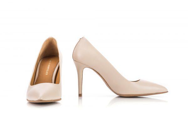 Pumps woman portuguese leather shoes