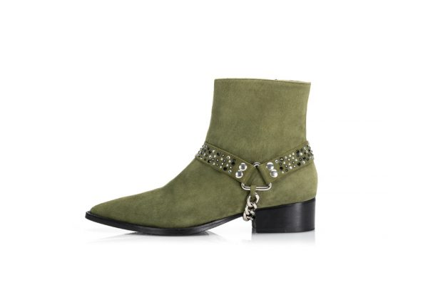 Suede Ankle Boots – Revolution