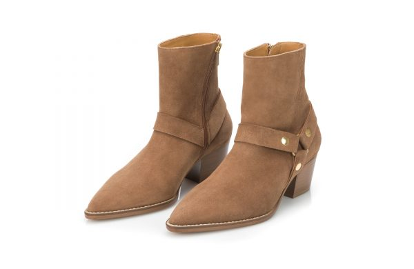 Portuguese footwear ankle leather boots