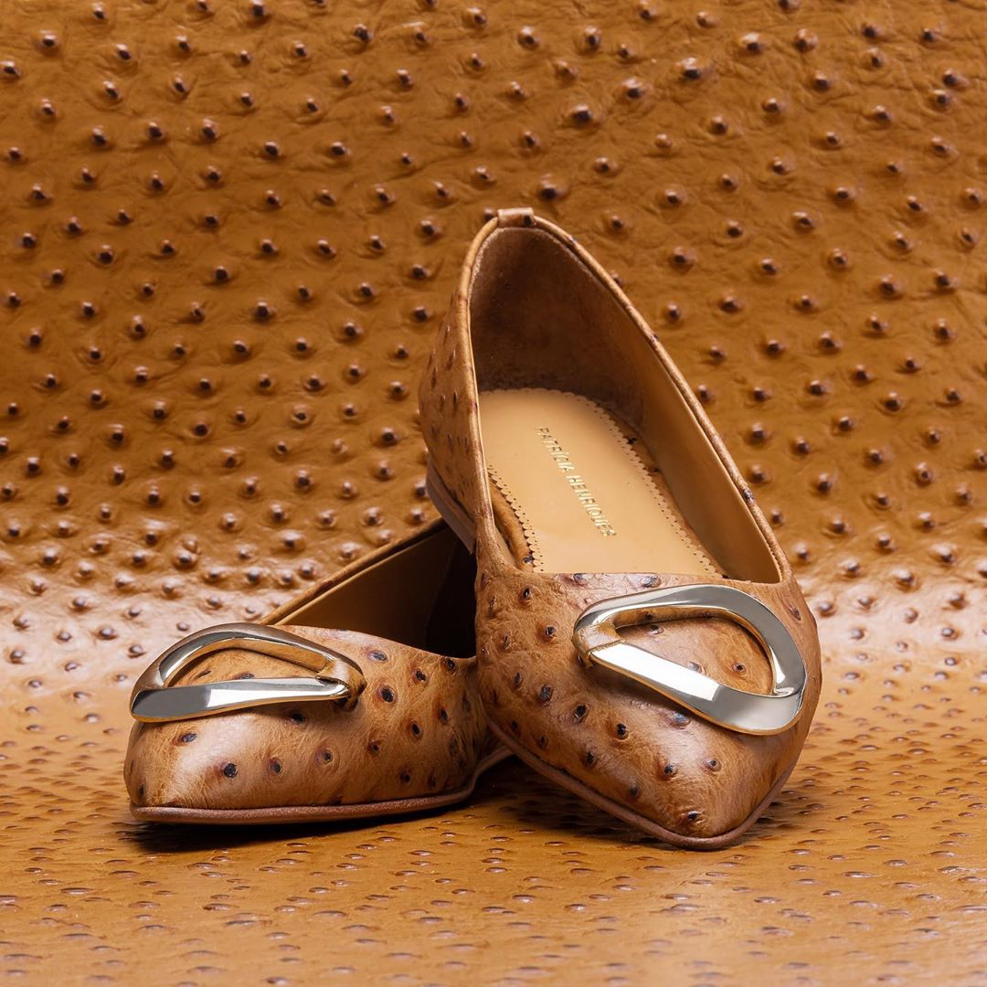 4 luxury flat leather shoes for busy women